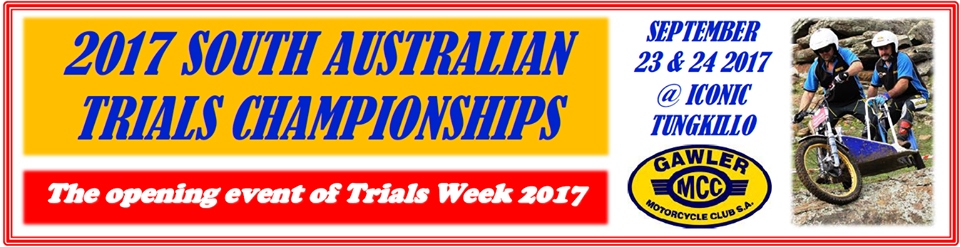 Event Logo for South Australian Moto Trials Championships
