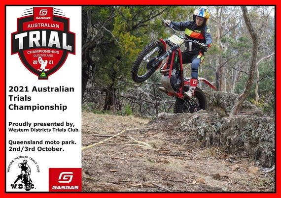 Event Logo for **MOVED TO QLD** Australian Trial Championship