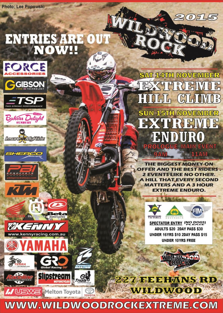 Event Logo for Wildwood Rock Extreme Enduro