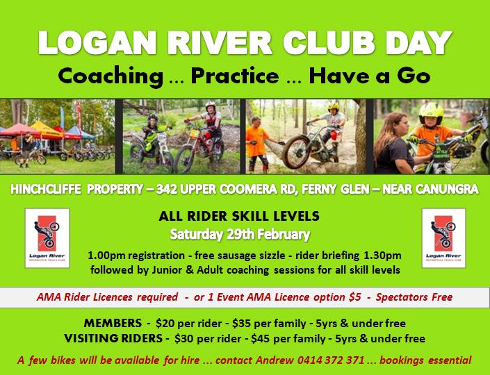 Event Logo for Logan River Trials Club - Coaching & Practice