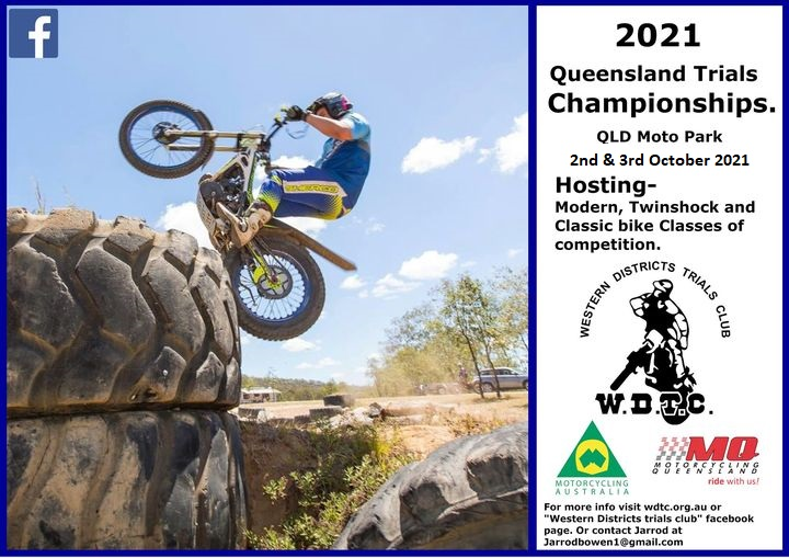 Event Logo for Qld State Trials Championship