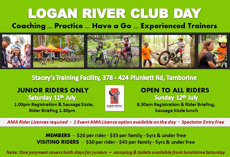 Event Logo for Logan River Club - Coaching / Practice / Have a Go.