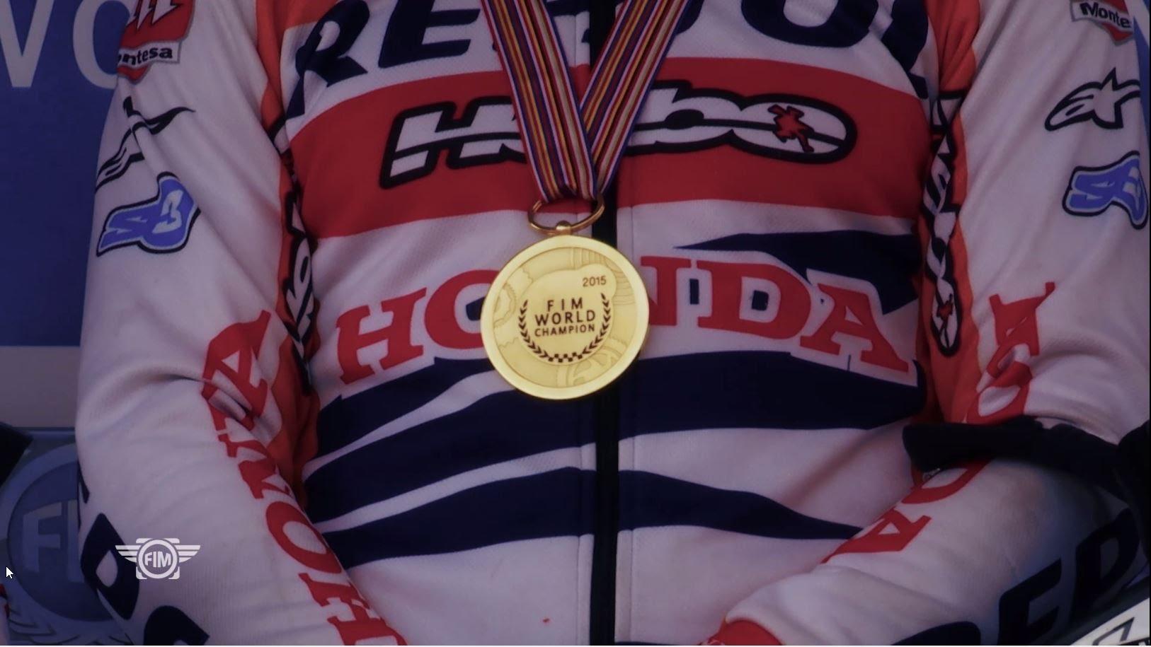 [VIDEO] 2015 FIM Trial World Championship - Season Review