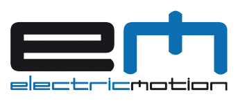 Electric Motion Trials Motorcycle Logo