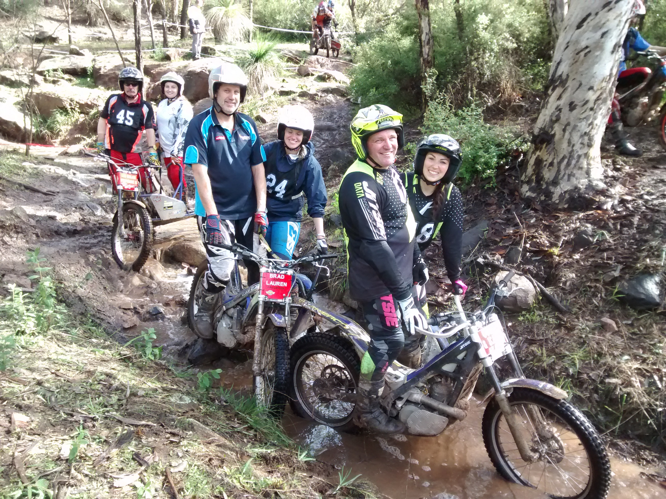 Motorcycling WA Women in Trials