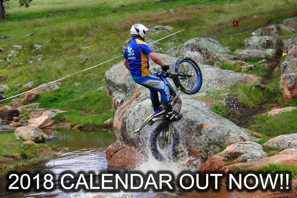2018 Pathfinders Trials MCC Calendar is OUT NOW!!!