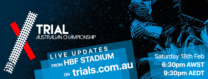 Join us on Trials.com.au for live updates from X Trial