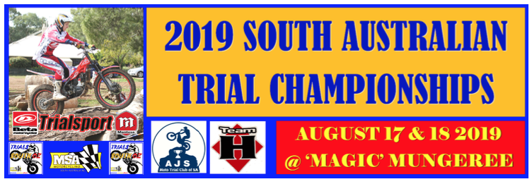 2019 SA TRIAL CHAMPIONSHIPS HEADING TO A  TRIALS 'MECCA'!