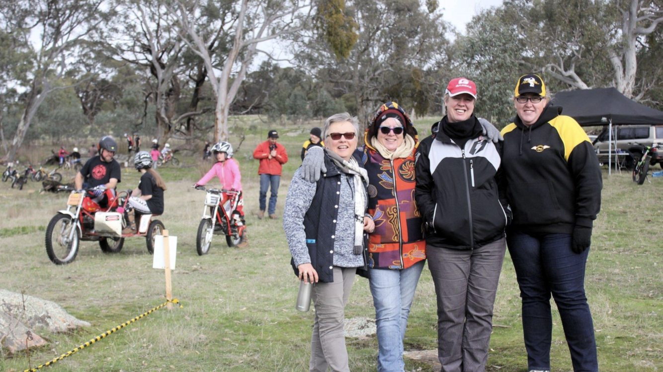 THE KEYNETON MCC, THEIR MOUNTAIN MAN TRIAL AND TRIALS SOUTH AUSTRALIA CREATE A LITTLE MOTORCYCLING SA HISTORY!
