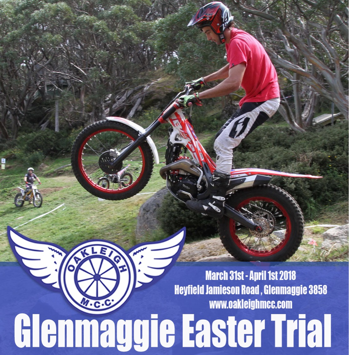Glenmaggie Easter Trial - ONLINE ENTRY CLOSING SOON