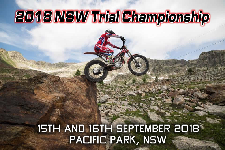 2018 NSW Trial Championship - 15th and 16th September