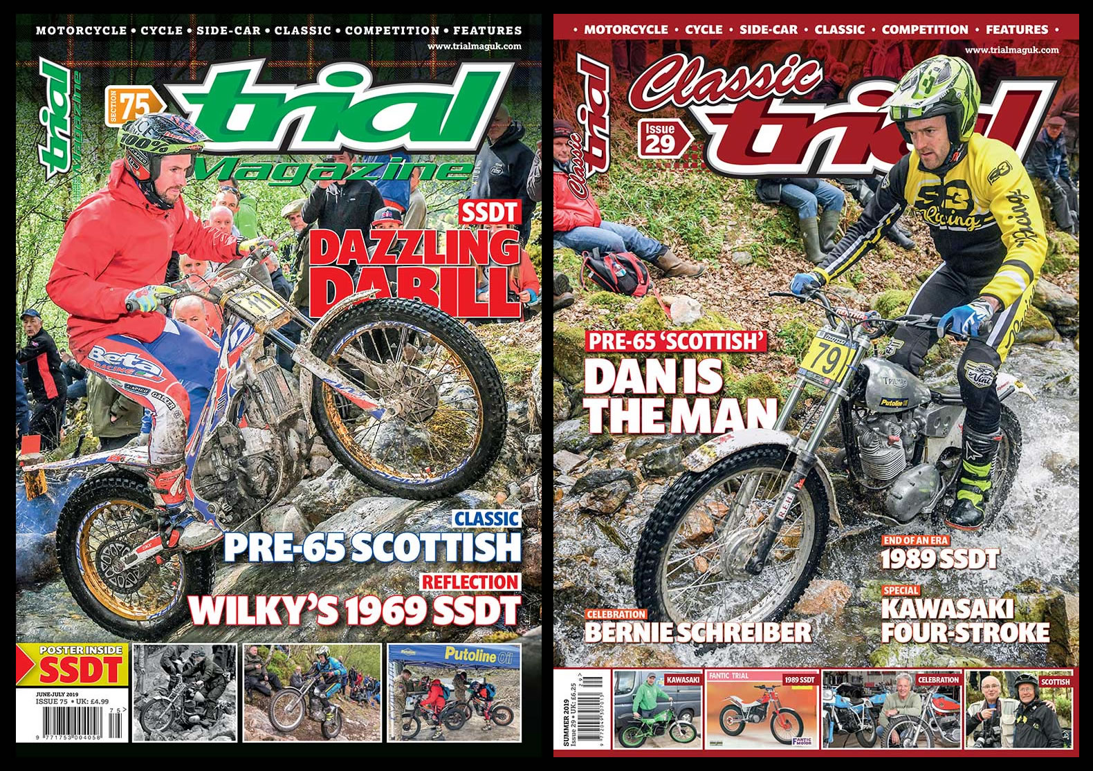 New Trial Mag and Classic Trial Mag OUT NOW! | Trials Australia