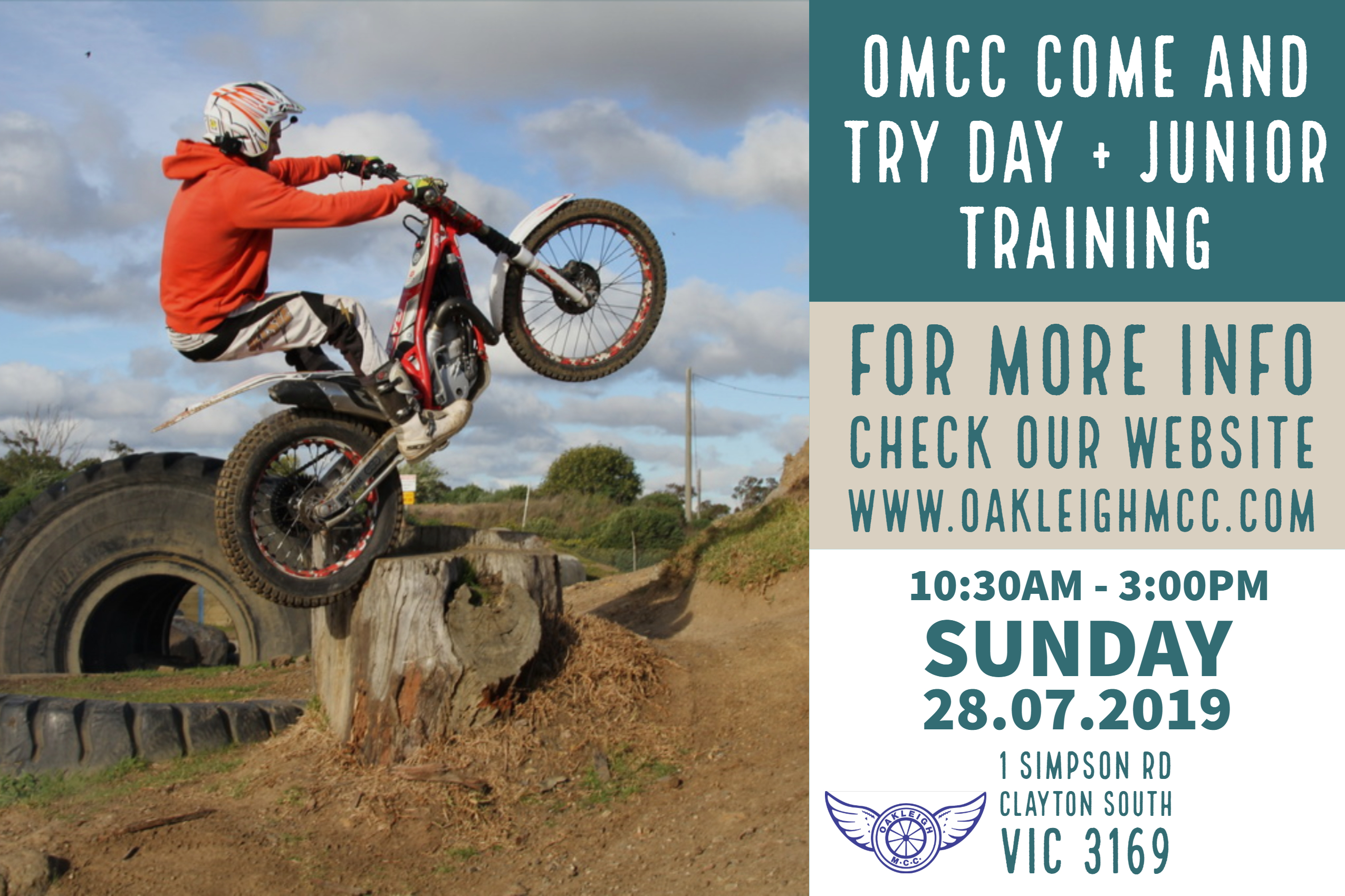 OMCC COME AND TRY DAY – 28.07.2019