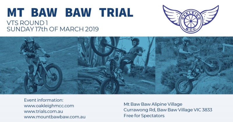 VTS Round 1 is back on at Mt Baw Baw on Sunday 17th March