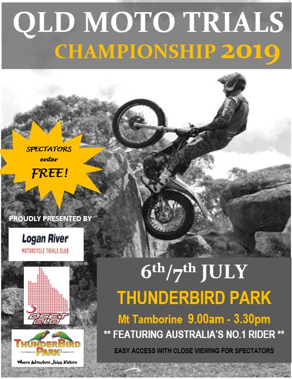 QLD 2019 Moto Trial Championships