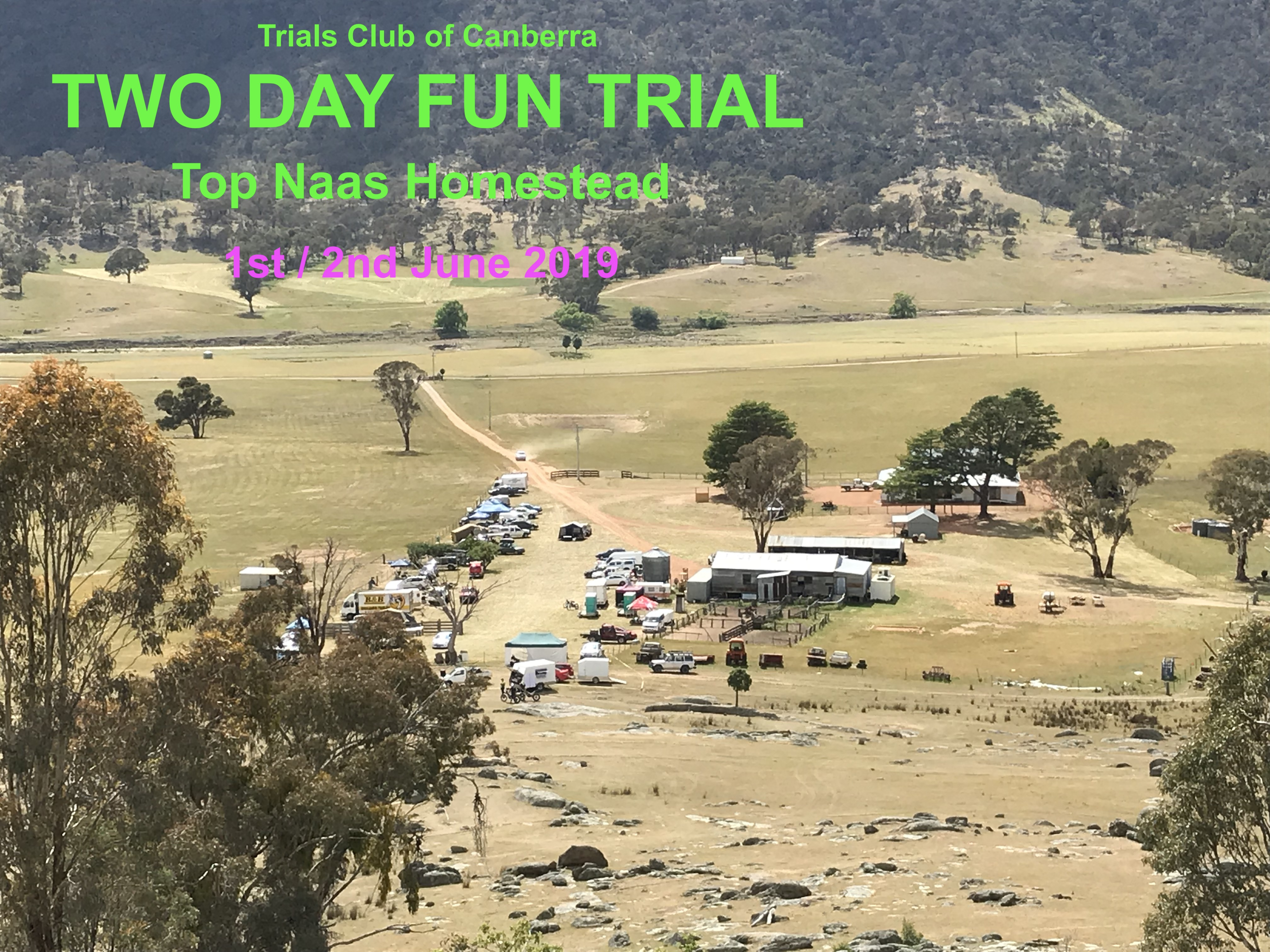 The TCC Two Day Fun Trial - June 1st and 2nd