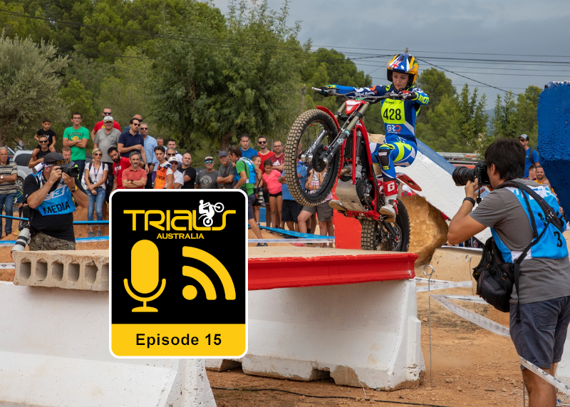 Ep 15: Jenna Lupo - MX to Trials to TdN
