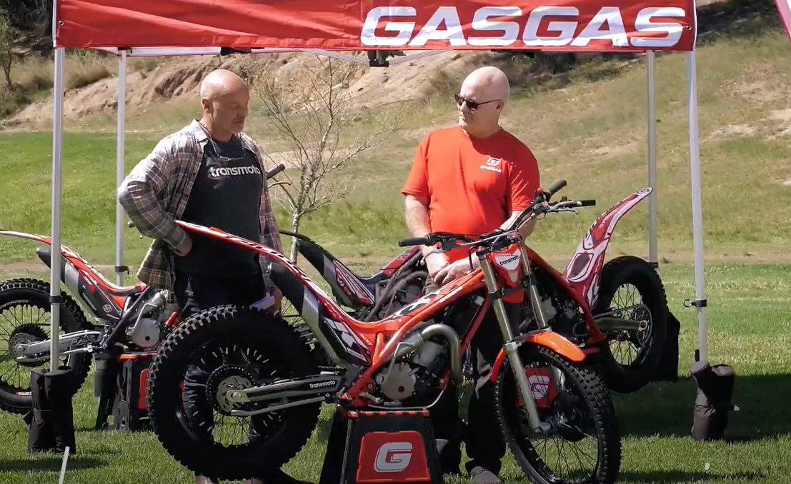 The Hell Team's Paul Arnott talks Trials with Andy Wigan from TransMoto.